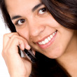 Girl on the phone — Stock Photo #7773016