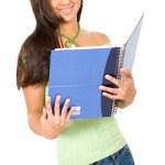 Gorgeous female student — Stock Photo #7773018