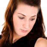 kadın portre - hüzün — Stok fotoğraf