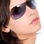 Fashion woman portrait - sunglasses — Stock Photo #7773081