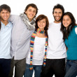 Group of happy friends — Stock Photo #7773088