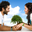 Beautiful happy couple — Stock Photo #7773096