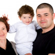 Happy family portrait — Stock Photo #7773101