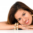 Beautiful latin american female portrait — Stock Photo