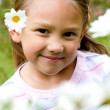 Beautiful little girl portrait — Stock Photo