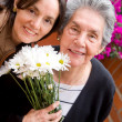 Mother and daughter portrait — Stock Photo #7773124