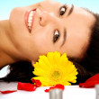 Stock Photo: Beauty and Spa - Girl