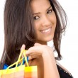 Girl with shopping bags — Stock Photo #7773159