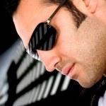 Fashion male portrait - sunglasses — Stock Photo #7773169