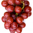Grapes on white - Stock Photo