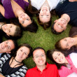 Group of happy friends — Stock Photo #7773188