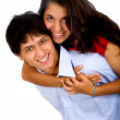 Happy young couple — Stock Photo #7773209