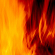 Abstract blur of a fire — Stock Photo