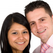Young couple smiling — Stock Photo #7773270