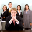 Business leadership and teamwork - Stock Photo
