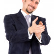 Business man applauding — Stock Photo #7773300