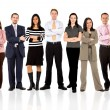 Stock Photo: Business team standing