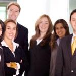 Business Office Team Work — Stock Photo