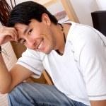 Casual man lifestyle portrait — Stock Photo