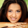 Stock Photo: Beauty portrait of hispanic girl