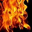 Abstract fire on black — Stock Photo #7773694