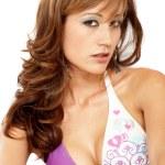 Bikini girl portrait — Stock Photo