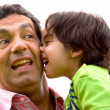 Royalty-Free Stock Photo: Problem child and his dad