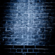 Stock Photo: Brick wall texture background