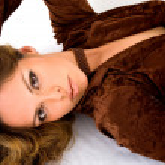 Fashion woman in brown — Stock Photo #7773857