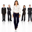 Be different - business team — Stock Photo