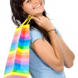 Girl with shopping bags — Stock Photo #7773874