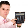 Stock Photo: Business accountant