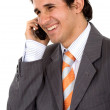 Business man on the phone — Stock Photo #7773963