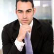 Foto Stock: Business man portrait