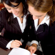 Office secretaries - Foto Stock