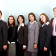 Business Team in an office — Stock Photo #7774061