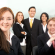 Business team in an office — Stock Photo #7774070