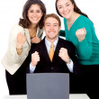 Stock Photo: Business sucessful team