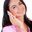 Business woman talking on the phone — Stock Photo #7774165