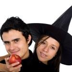Bad apple couple — Stock Photo #7774182