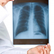 Xray over white — Stock Photo