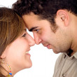 Beautiful couple smiling — Stock Photo #7774195