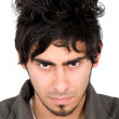 Royalty-Free Stock Photo: Malicious man portrait