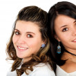 Beautiful female friends — Stock Photo