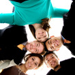 Business team united together — Stock Photo #7774322
