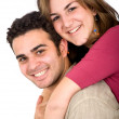Couple of young portrait — Stock Photo #7774348