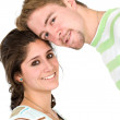 Couple of young portrait — Stock Photo #7774391