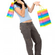 Girl with shopping bags — Stock Photo #7774441