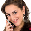 Woman on the phone — Stock Photo #7774448