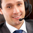 Customer service representative — Stock Photo #7774485